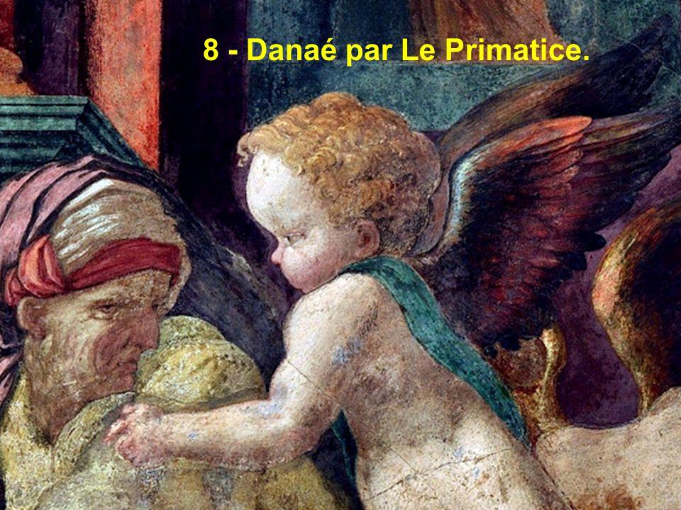 8 - Danaé par Le Primatice.