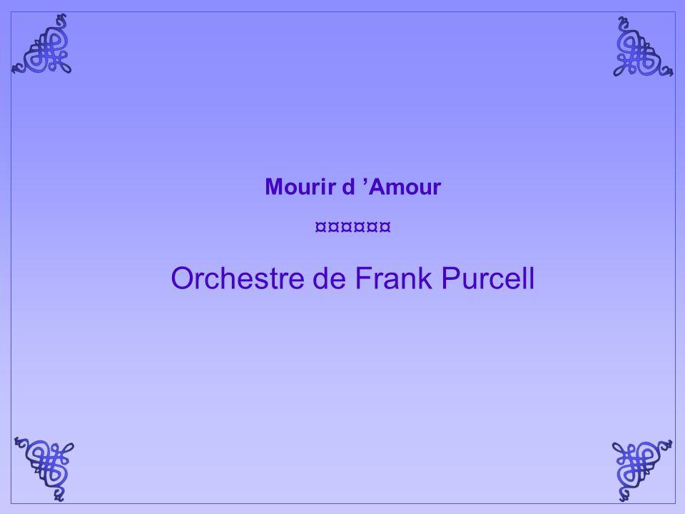 Orchestre de Frank Purcell