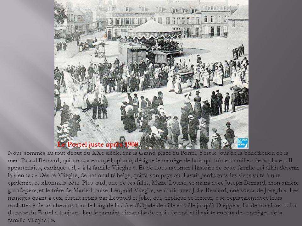 Le Portel juste après 1900