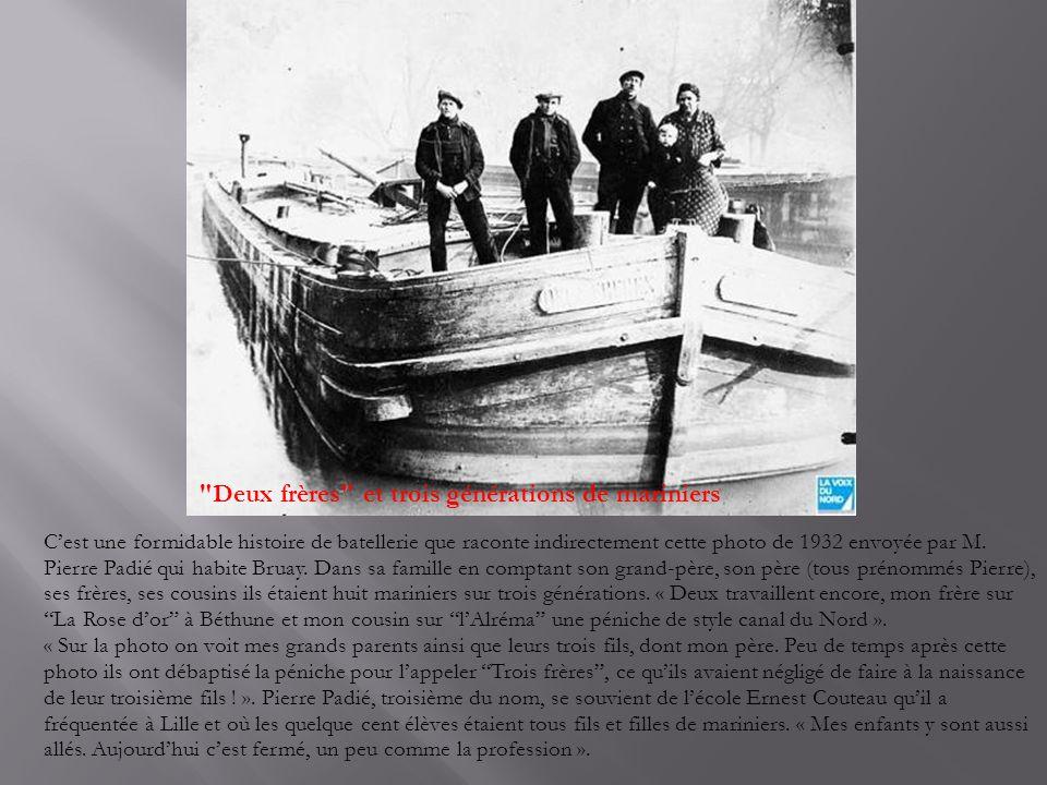 Deux frères et trois générations de mariniers