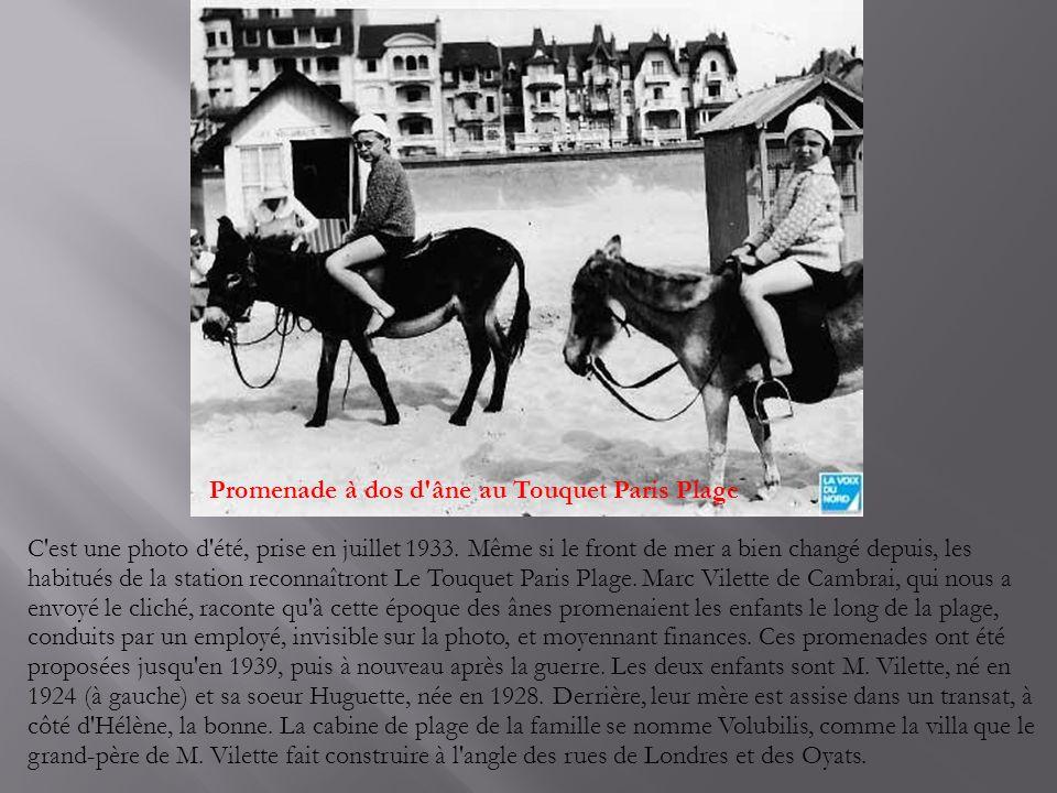Promenade à dos d âne au Touquet Paris Plage