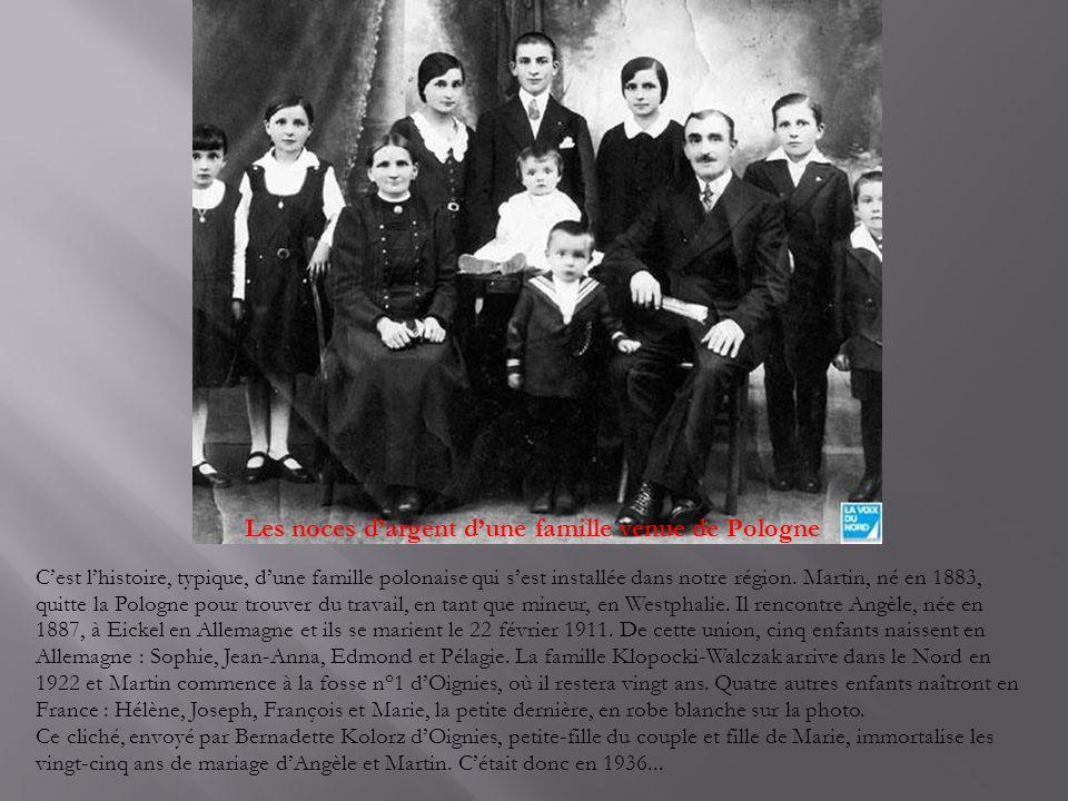Les noces d'argent d'une famille venue de Pologne
