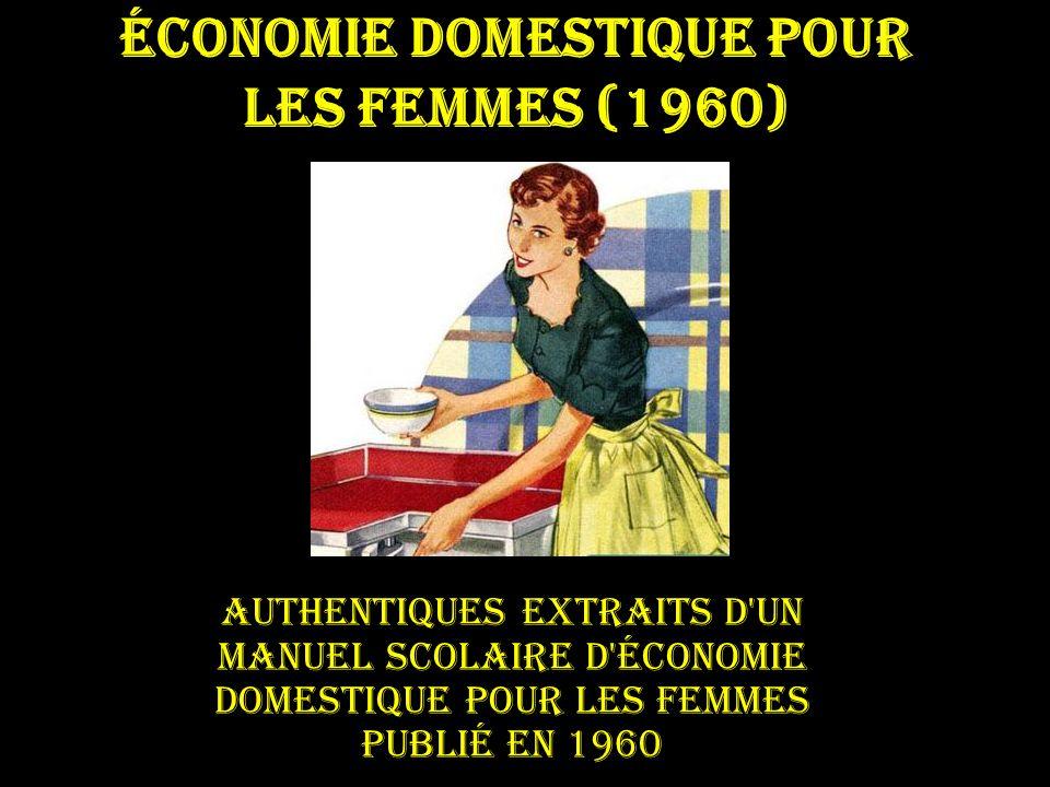 Économie domestique pour les femmes (1960)