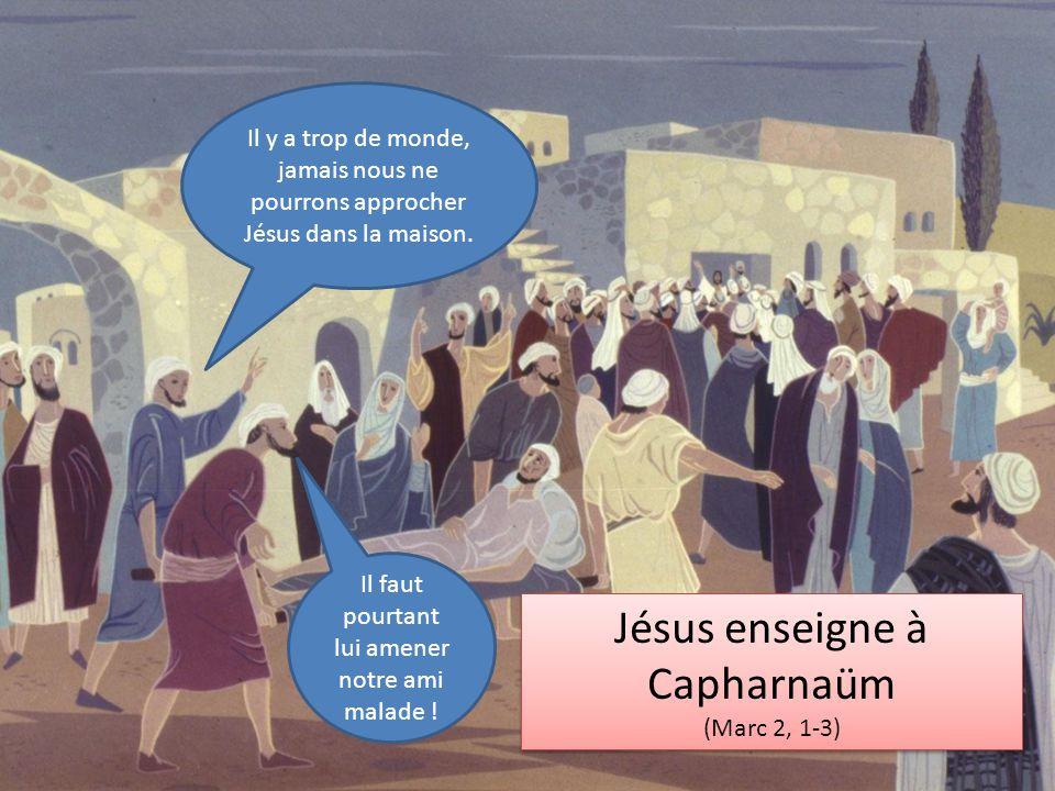 Jésus enseigne à Capharnaüm