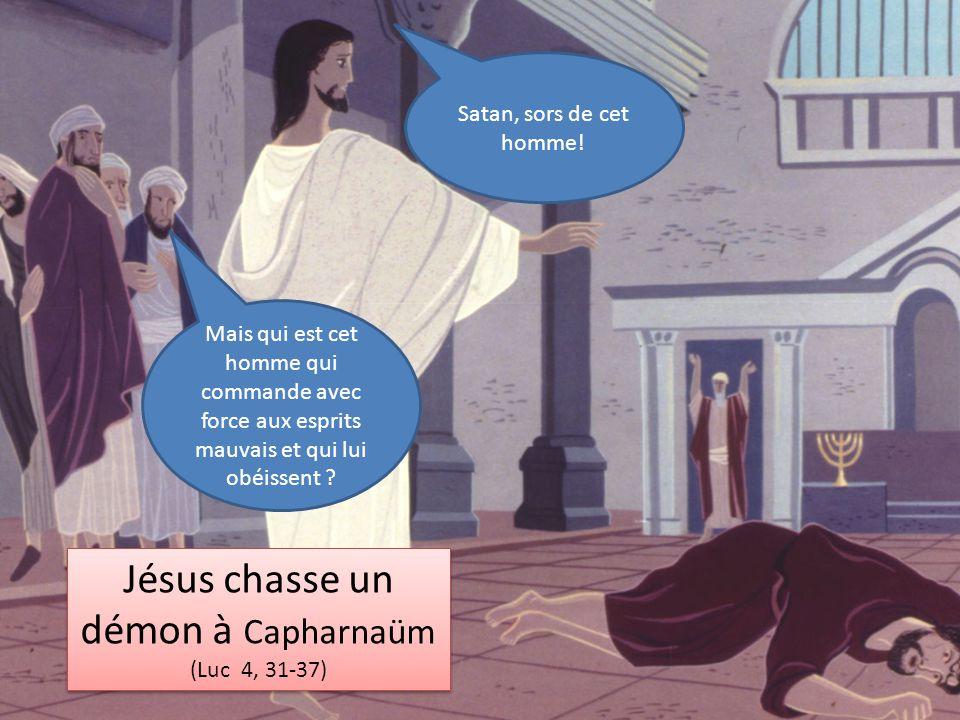 Jésus chasse un démon à Capharnaüm