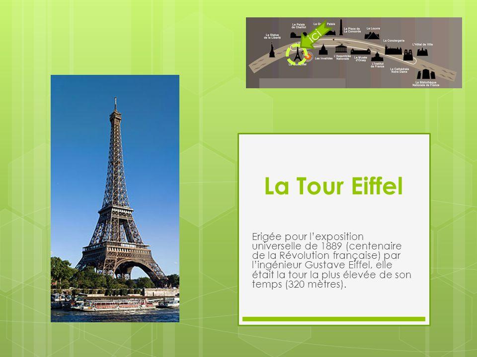 ici La Tour Eiffel.
