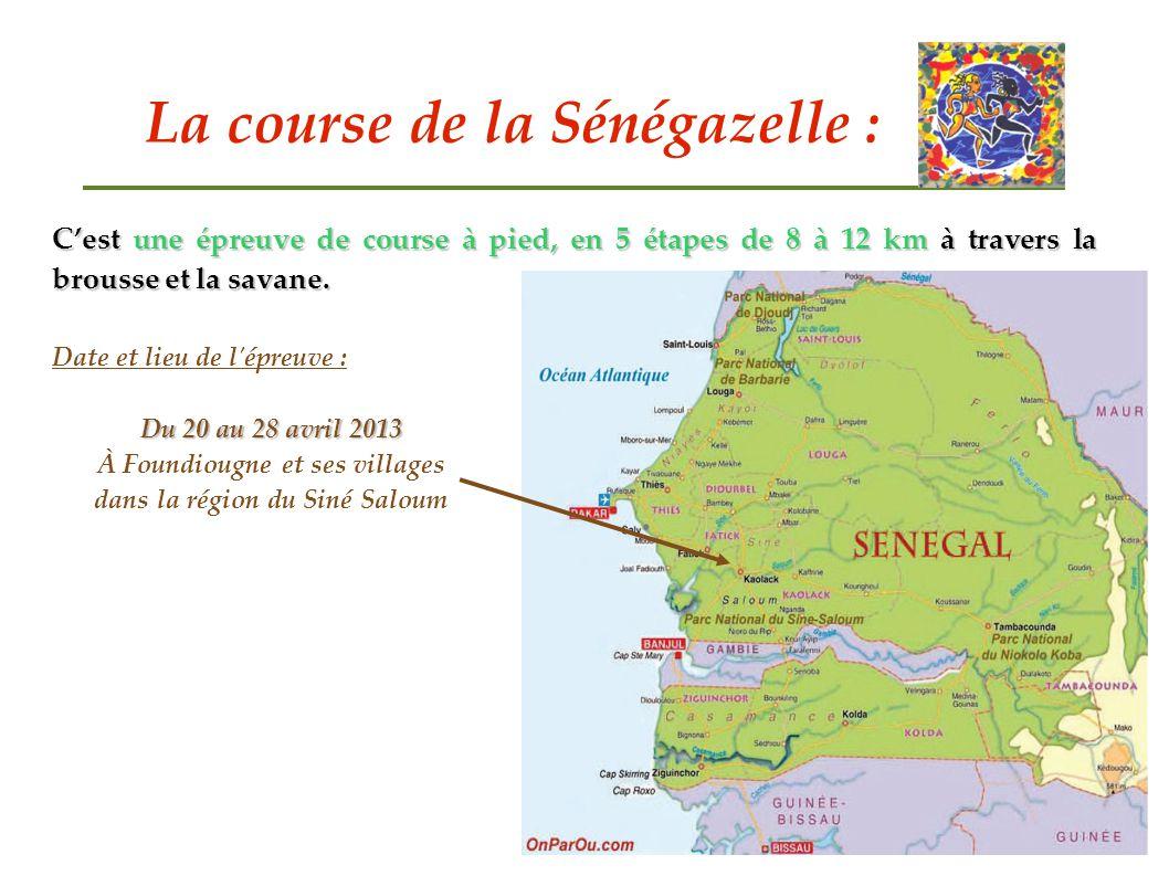 La course de la Sénégazelle :