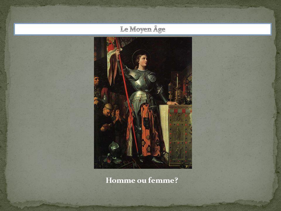 Le Moyen Âge Homme ou femme