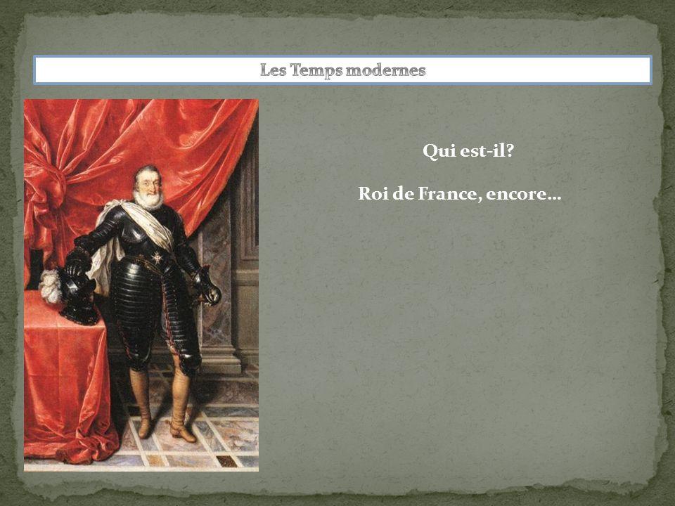 Qui est-il Roi de France, encore…