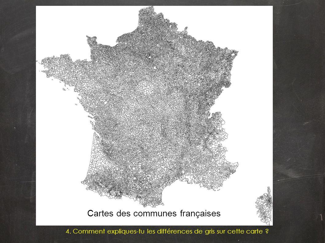 Cartes des communes françaises