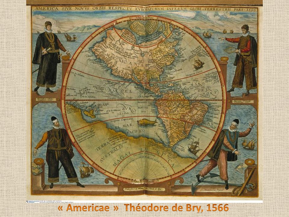 « Americae » Théodore de Bry, 1566