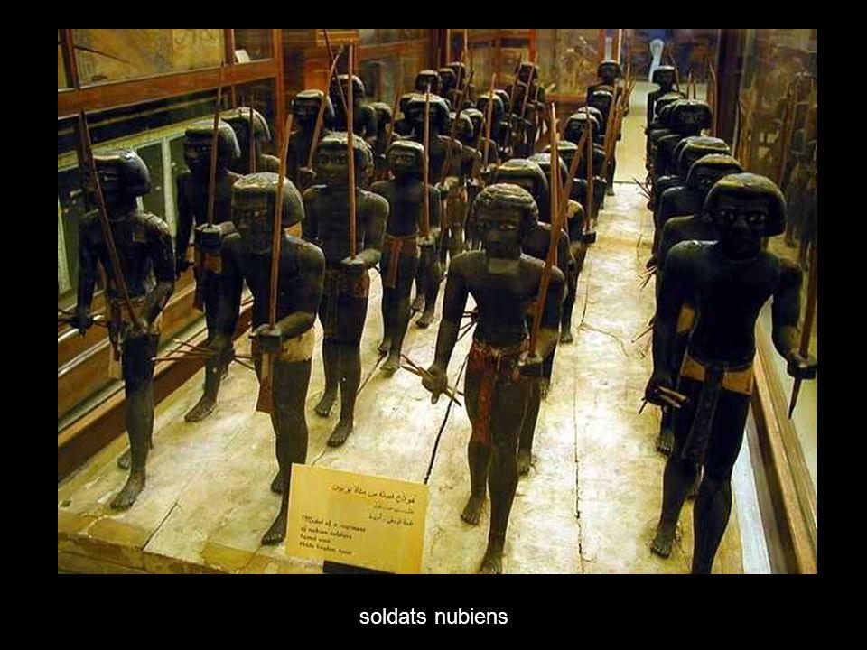 soldats nubiens