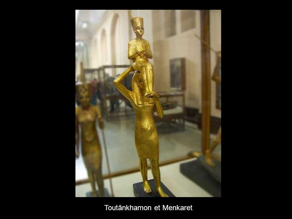 Toutânkhamon et Menkaret