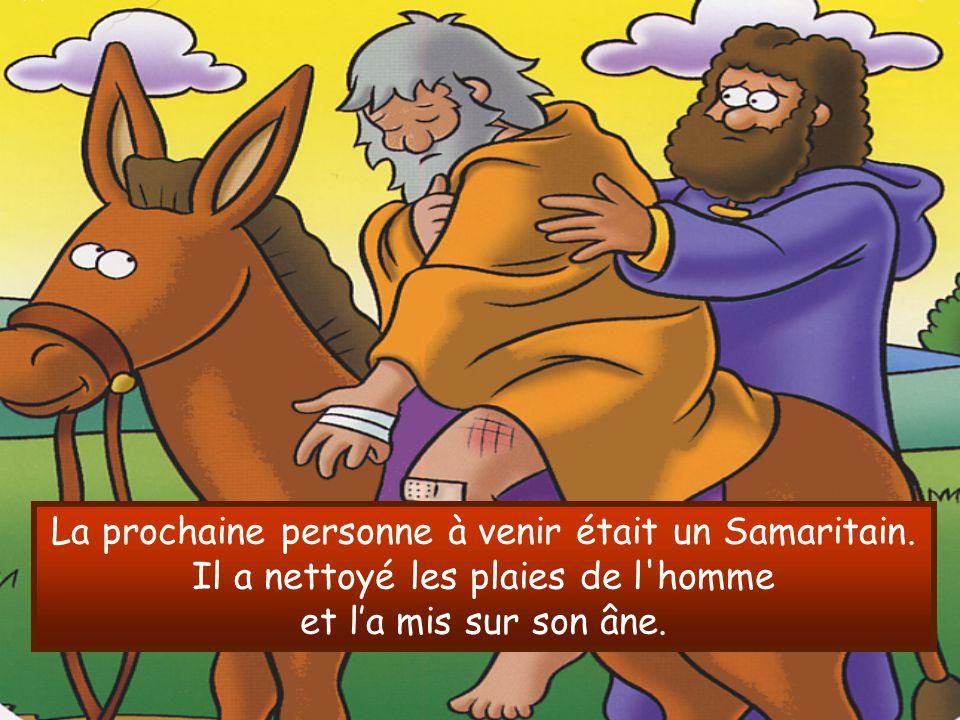 La prochaine personne à venir était un Samaritain