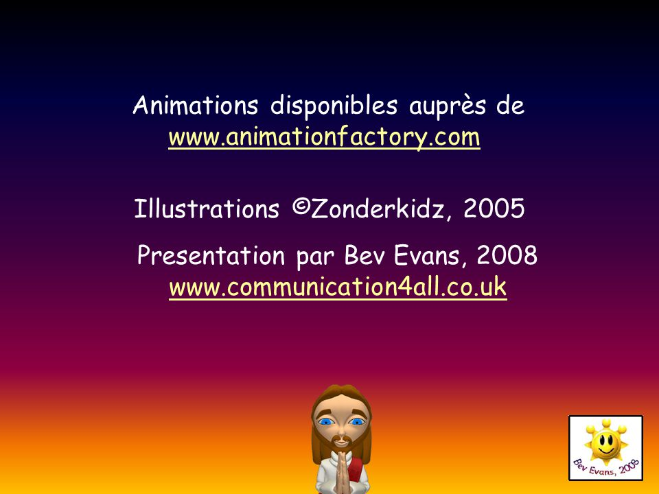 Animations disponibles auprès de www.animationfactory.com