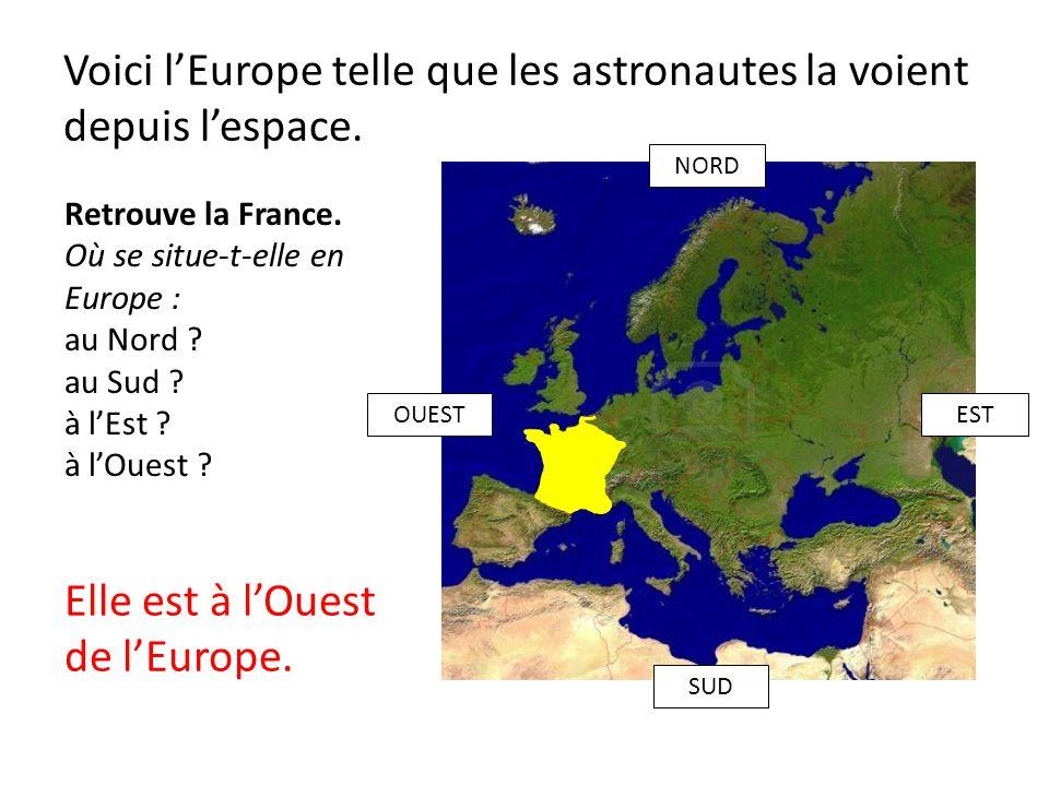 Voici l'Europe telle que les astronautes la voient depuis l'espace.