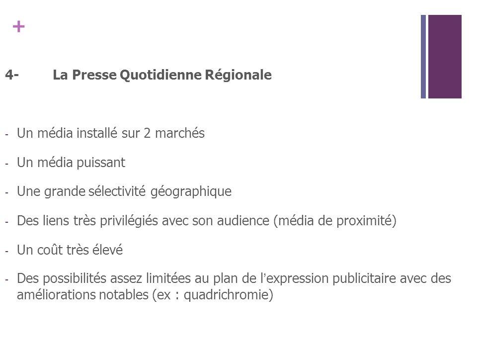 4- La Presse Quotidienne Régionale