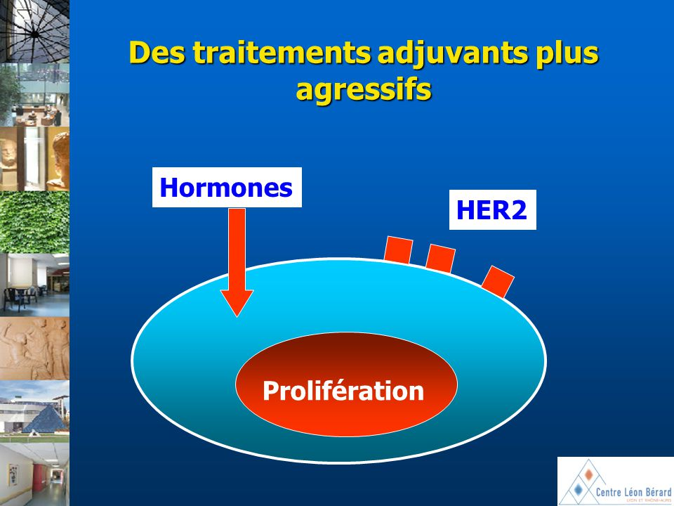 Des traitements adjuvants plus agressifs
