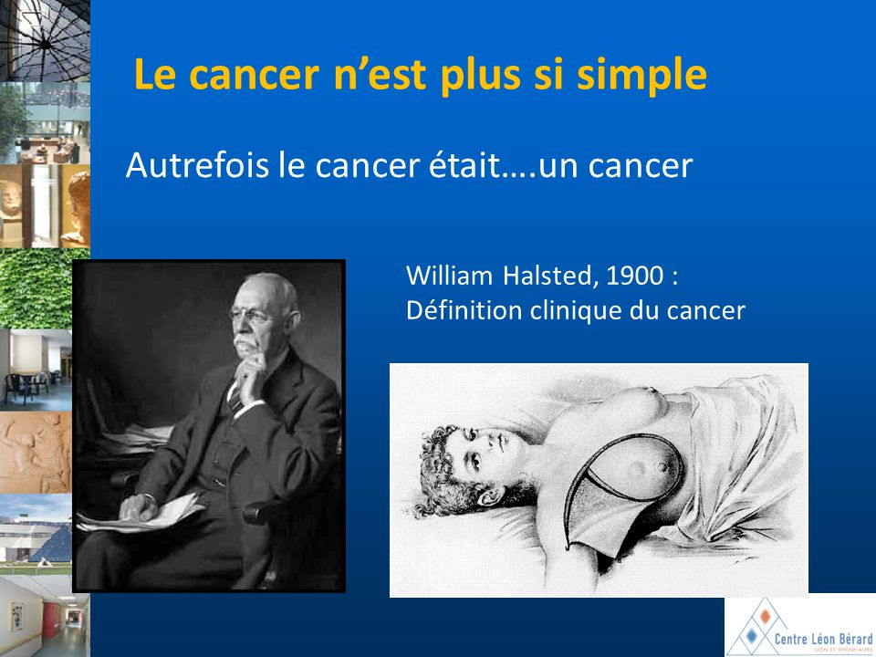 Le cancer n'est plus si simple