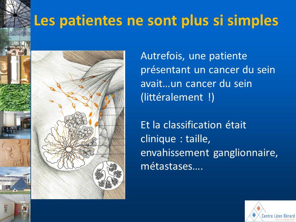 Les patientes ne sont plus si simples