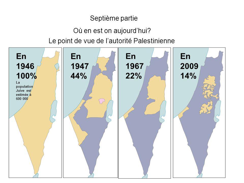 Septième partie Où en est on aujourd'hui En 1946100% En 1947 44% En