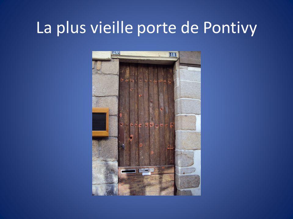 La plus vieille porte de Pontivy