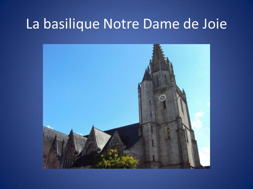 La basilique Notre Dame de Joie