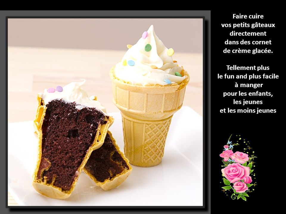 vos petits gâteaux directement
