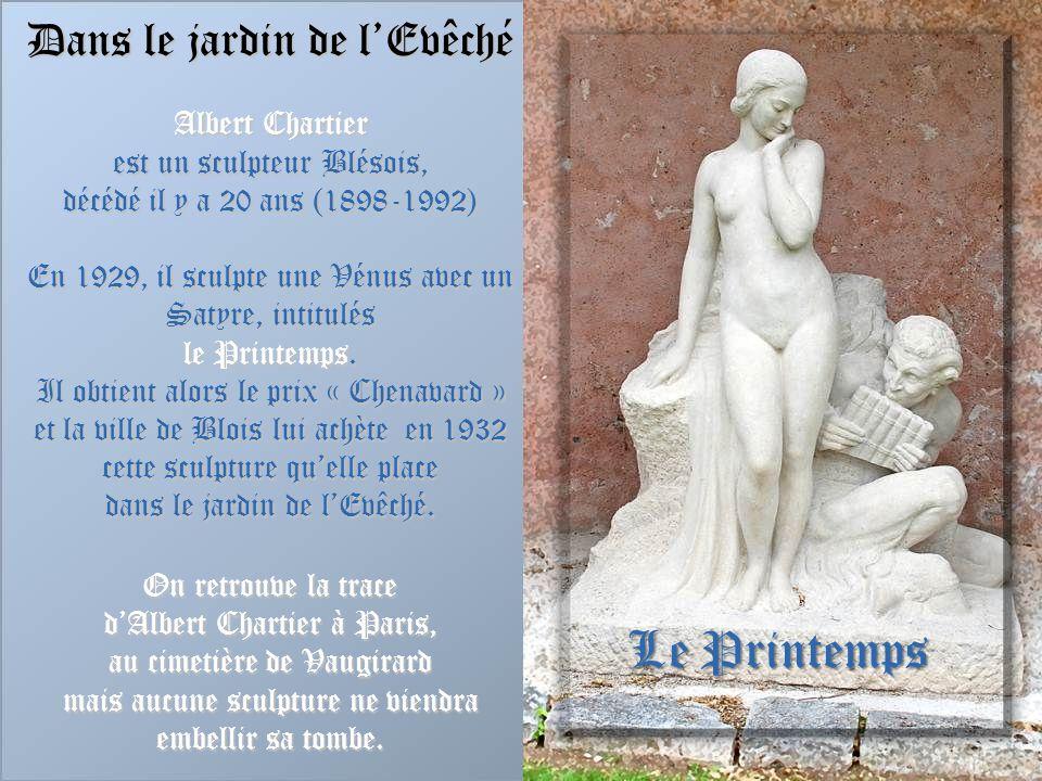 Le Printemps Dans le jardin de l'Evêché Albert Chartier