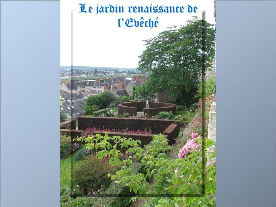 Le jardin renaissance de l'Evêché
