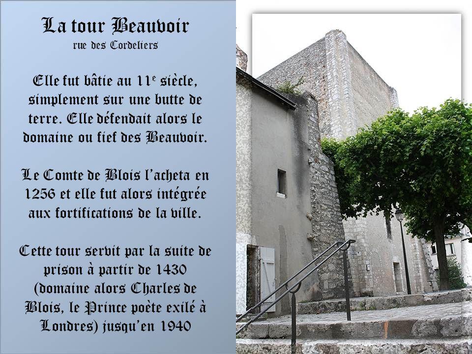La tour Beauvoir rue des Cordeliers.