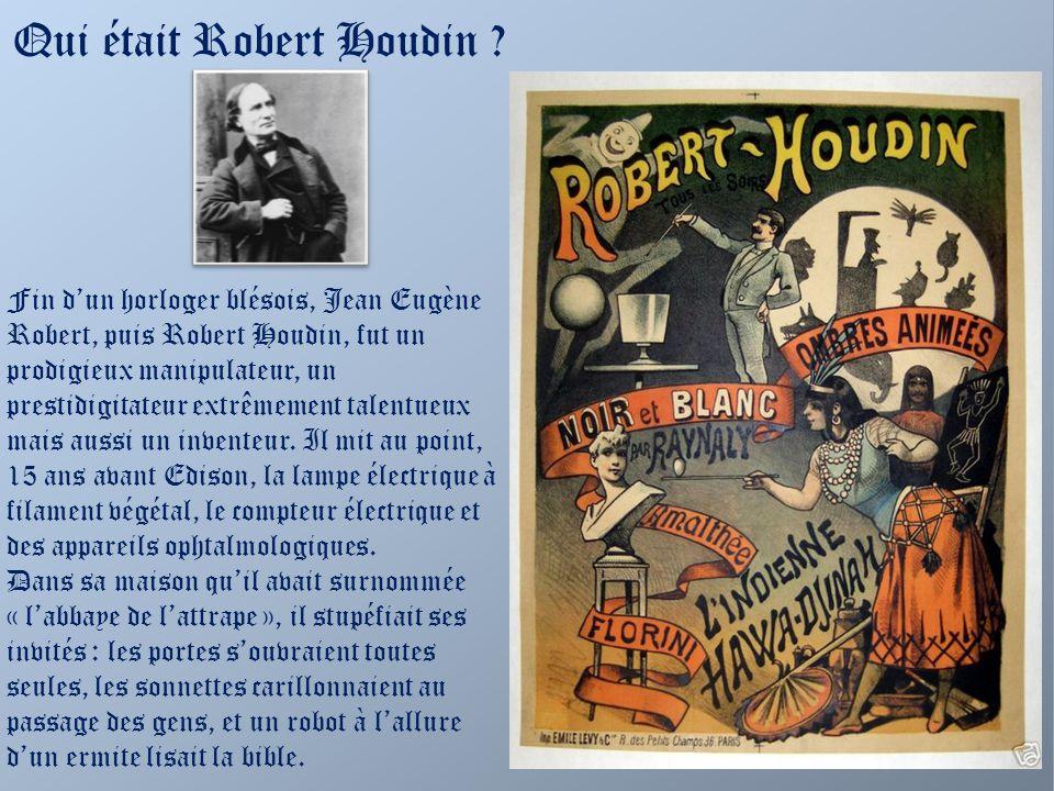 Qui était Robert Houdin