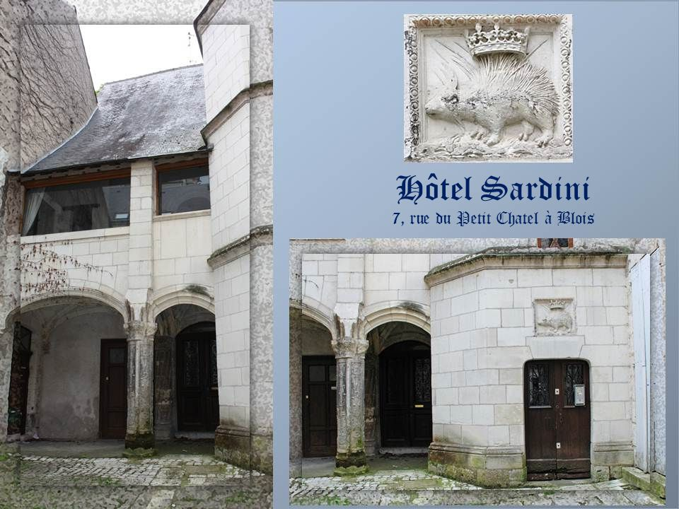 7, rue du Petit Chatel à Blois