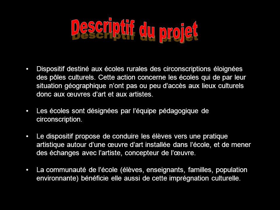 Descriptif du projet