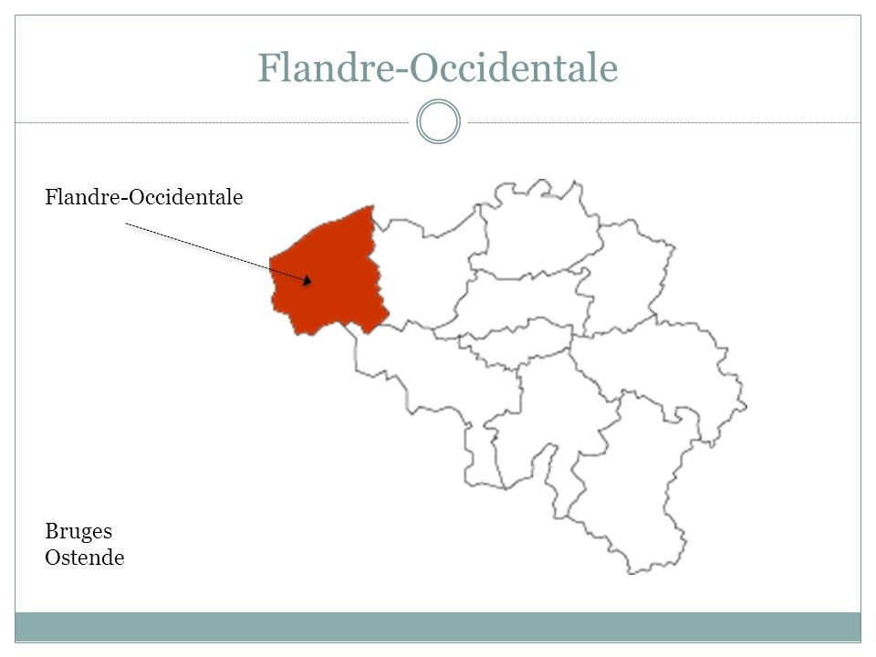 Flandre-Occidentale Flandre-Occidentale Bruges Ostende