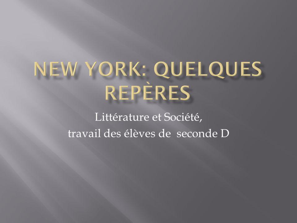 New York: quelques repères