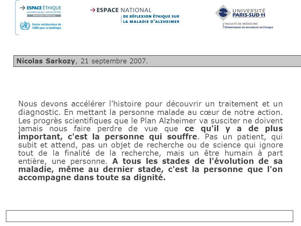 Nicolas Sarkozy, 21 septembre 2007.
