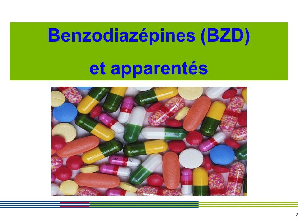 Benzodiazépines (BZD)