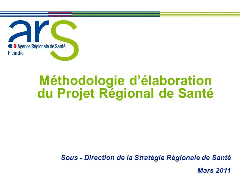 Méthodologie d'élaboration du Projet Régional de Santé