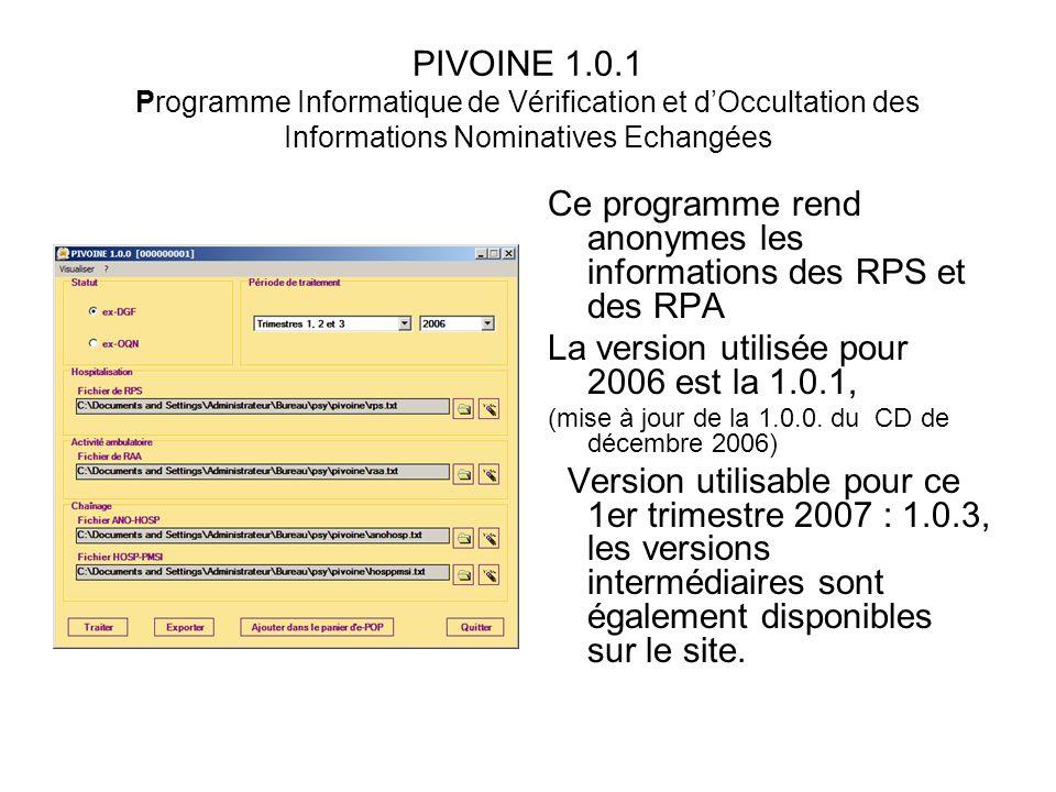 Ce programme rend anonymes les informations des RPS et des RPA