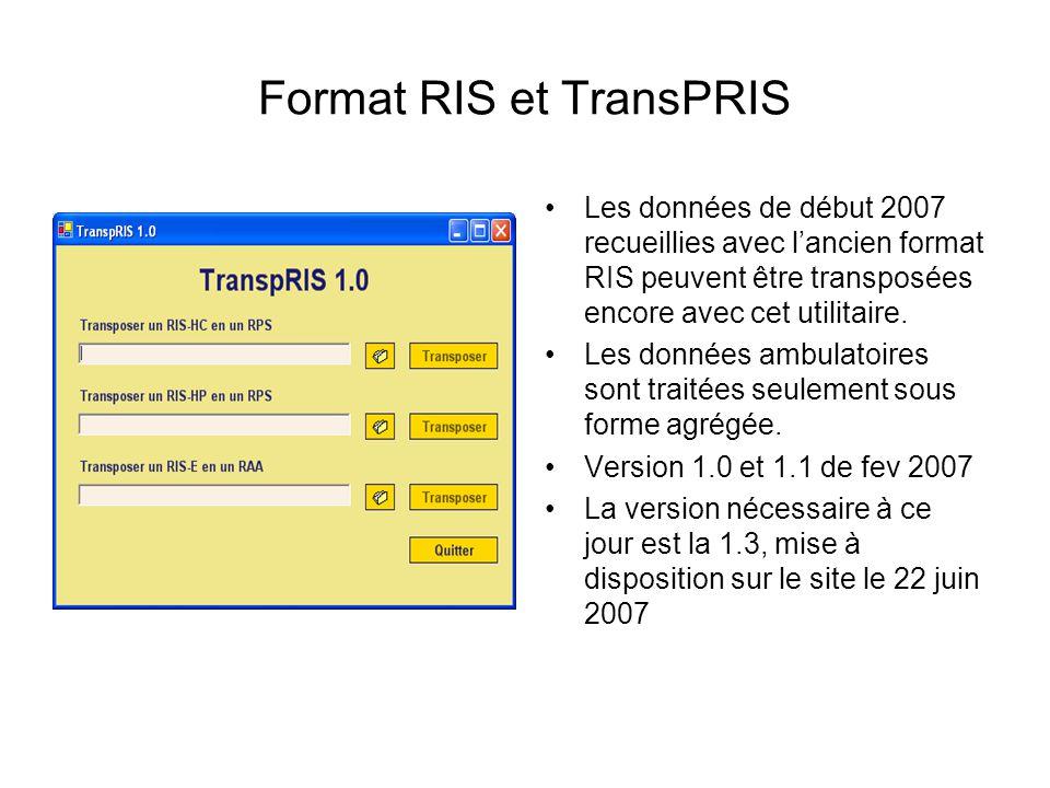 Format RIS et TransPRIS