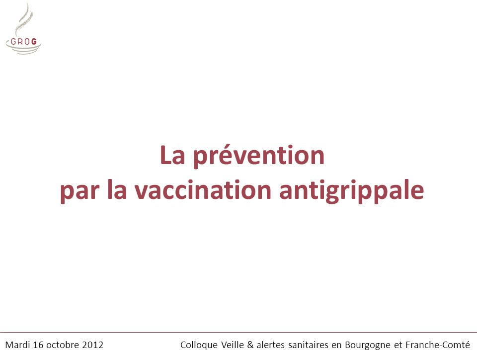par la vaccination antigrippale