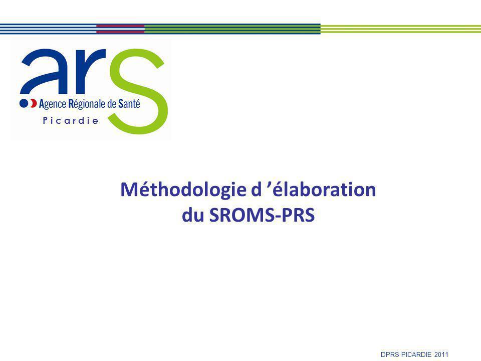 Méthodologie d 'élaboration du SROMS-PRS
