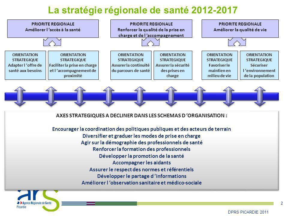 La stratégie régionale de santé 2012-2017