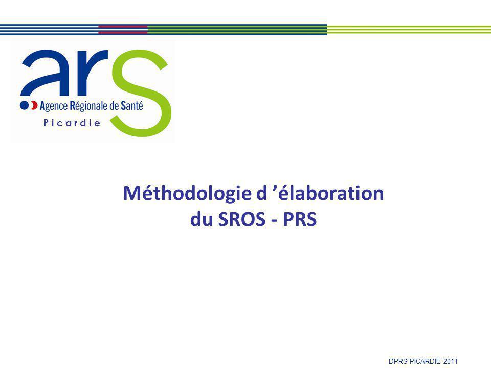 Méthodologie d 'élaboration du SROS - PRS