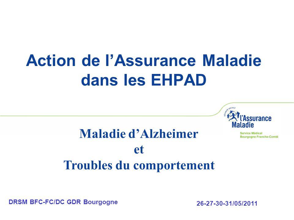 Action de l'Assurance Maladie dans les EHPAD
