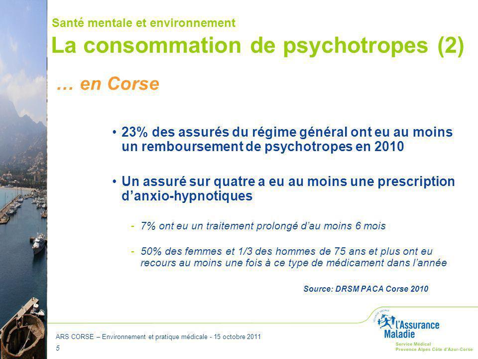 La consommation de psychotropes (2)