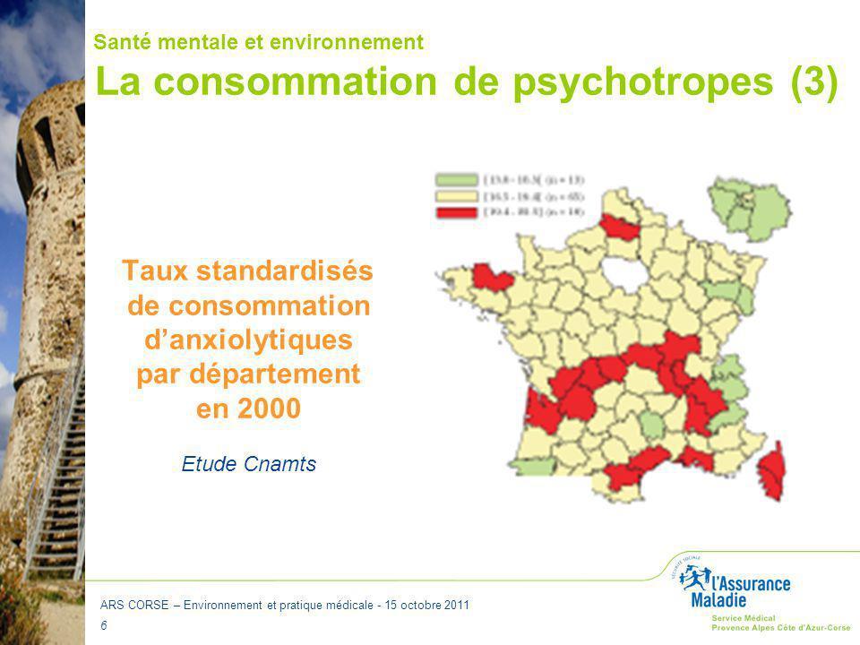 La consommation de psychotropes (3)