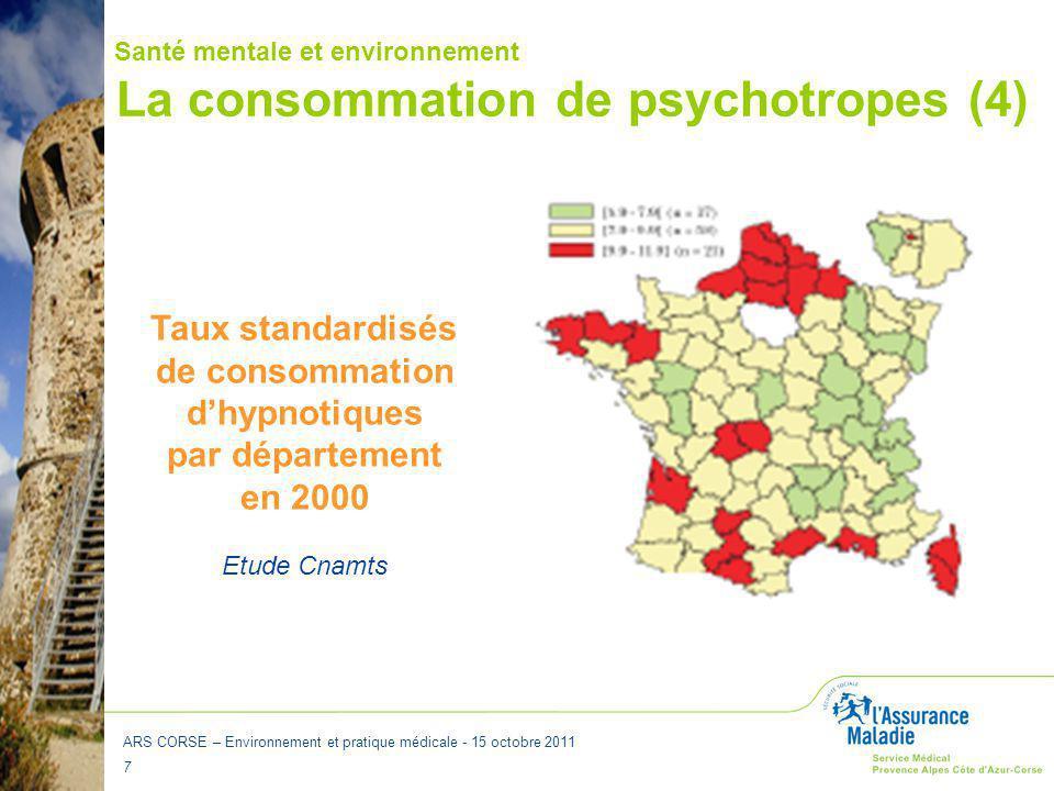 La consommation de psychotropes (4)
