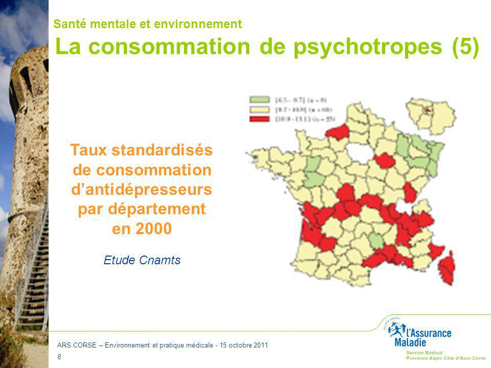La consommation de psychotropes (5)